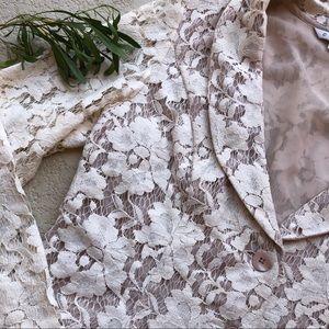 CAbi Jackets & Coats - CAbi Crop Lace Blazer